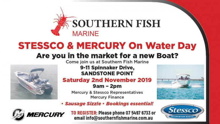 Southern Fish Marine – On Water Day Invite