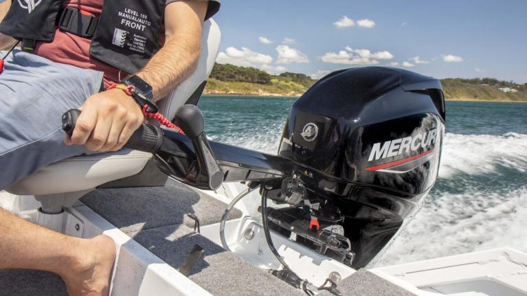 All new tiller provides 'individualised control' for boaters with 40-115hp outboards