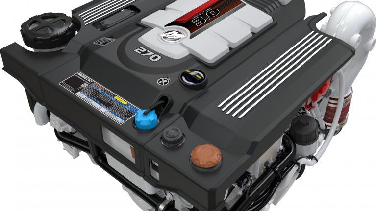 Mercury Diesel 3.0L 150-270hp engines introduced at SIBS